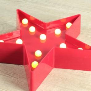 Estrella luminosa roja