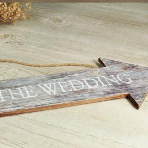 Flecha wedding de madera