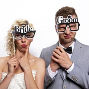 Gafas novios photobooth