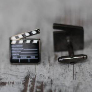 Gemelos claqueta de cine