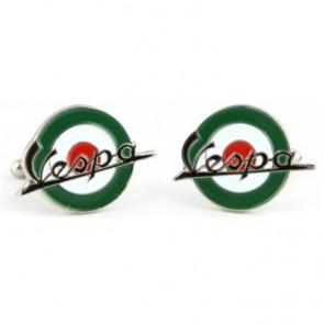Gemelos Logo Vespa Verdes