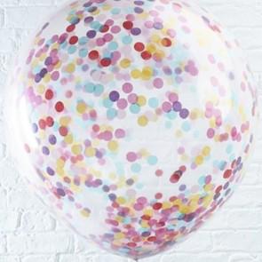 Globo gigante con confetti