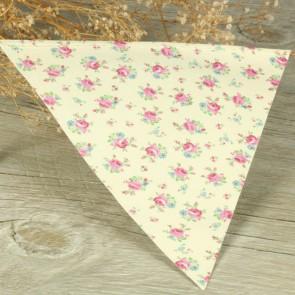 Guirnalda de papel motivos florales