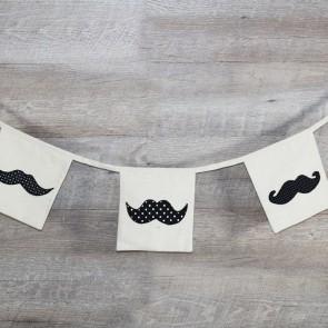 Guirnalda de bigotes