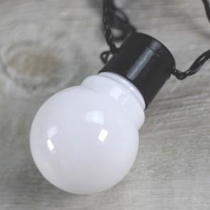 Guirnalda de luces blancas