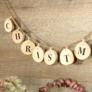 Guirnalda de madera Christmas