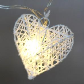 Guirnaldas de luces corazones