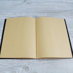 Libro de firmas negro y kraft