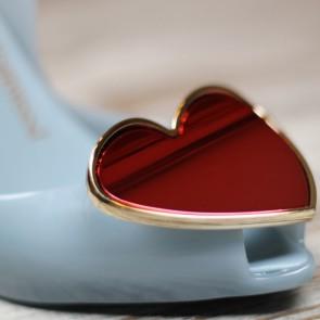 Lady Dragon Dove corazón rojo