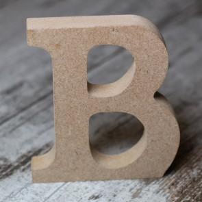 Letras de madera sin pintar (10cmx15mm)