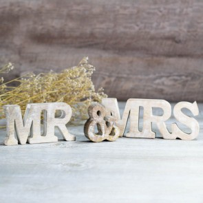 Letras Mr and Mrs