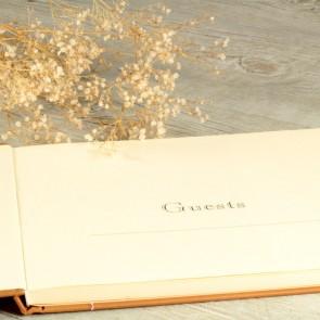 Libro de firmas craft