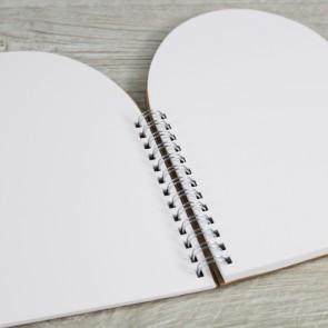 Libro de firmas corazón