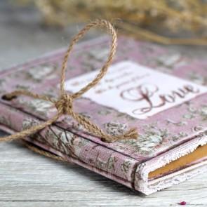 Libro de firmas lila