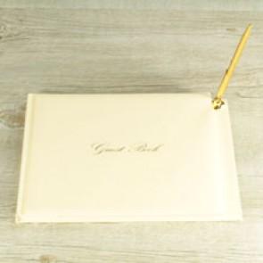 Libro firmas marfil
