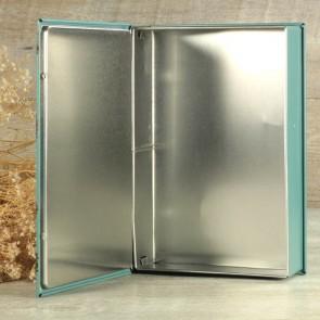 Libro cajita metal