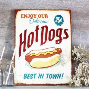 Lienzo Hot Dogs