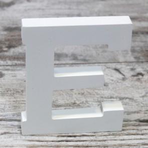 Letras de madera blancas (12x9,5)
