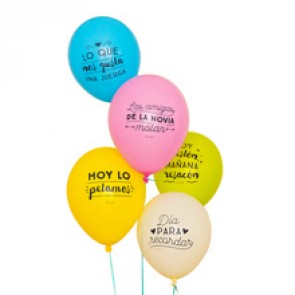 Mr Wonderful Globos para despedidas de soltera épicas