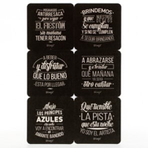 Mr Wonderful posavasos