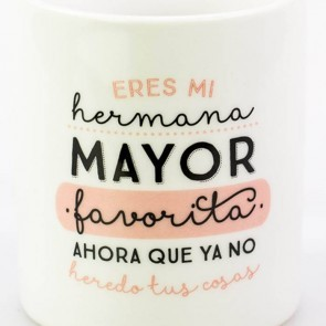 Mr Wonderful Taza Eres mi hermana mayor favorita