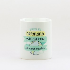 mr wonderful taza eres el hermano mas genial