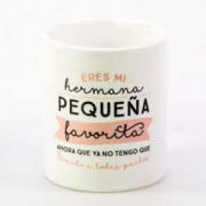 Mr Wonderful taza hermana pequeña favorita