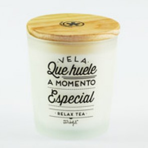 Mr Wonderful vela momento especial