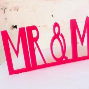 Mr&Mr, adorno pastel de boda gay