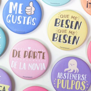 Mr Wonderful chapas boda (20 uds.)
