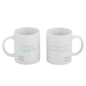 Mr Wonderful Set de 2 tazas