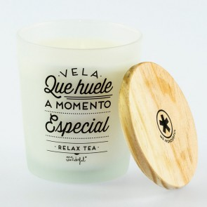 Mr Wonderful Vela que huele a momento especial