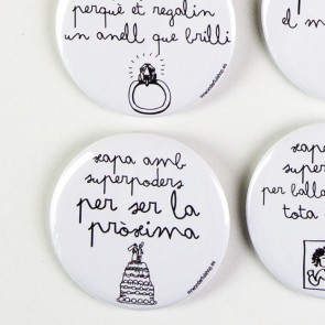 Mr Wonderful Xapes amb superpoders per a casaments (20 uds.)