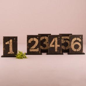 Mesero para bodas rústico de madera (Pack del 1 al 6)
