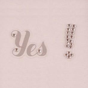 Sticker Yes! de zapato de novia