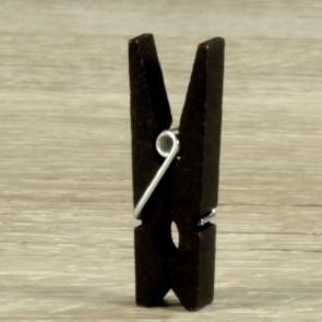 Mini pinzas negras