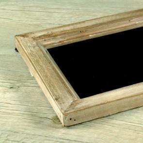 Pizarra de madera rectangular 49x19cm