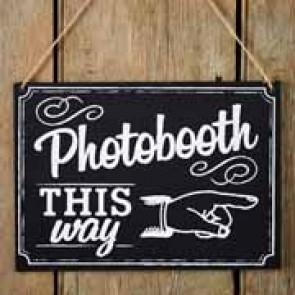 Pizarra Photobooth