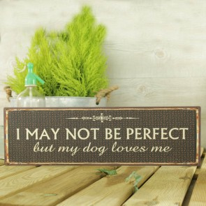 Placa I may not be perfect