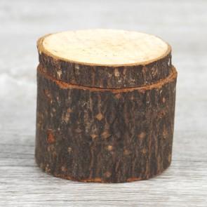 Porta alianzas rústico de madera