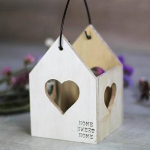 Portavela madera Home Sweet Home
