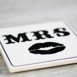 Posavasos Mr Mrs