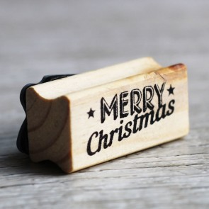 Sello Merry Christmas
