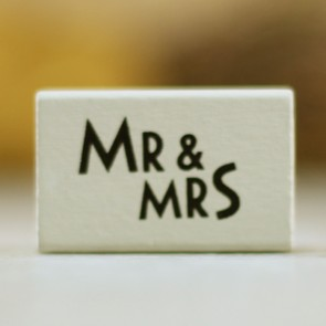 Sello Mr Mrs