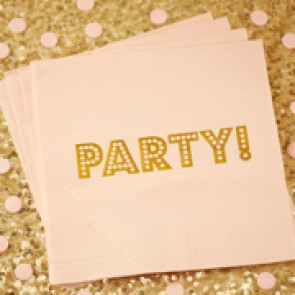 Servilletas de papel party