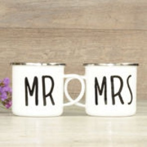 Taza Mr Mrs regalo
