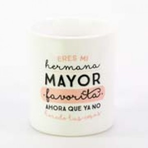 taza-mr wonderful eres la hermana mayor favorita