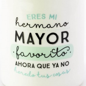 Mr Wonderful Taza Eres mi hermano mayor favorito