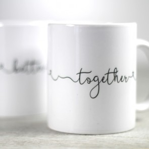 Pareja de tazas Better Together