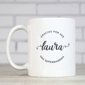 Taza personalizada para madrinas